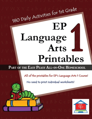 language arts 1 � easy peasy allinone homeschool