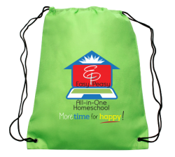 Green bag with EP logo