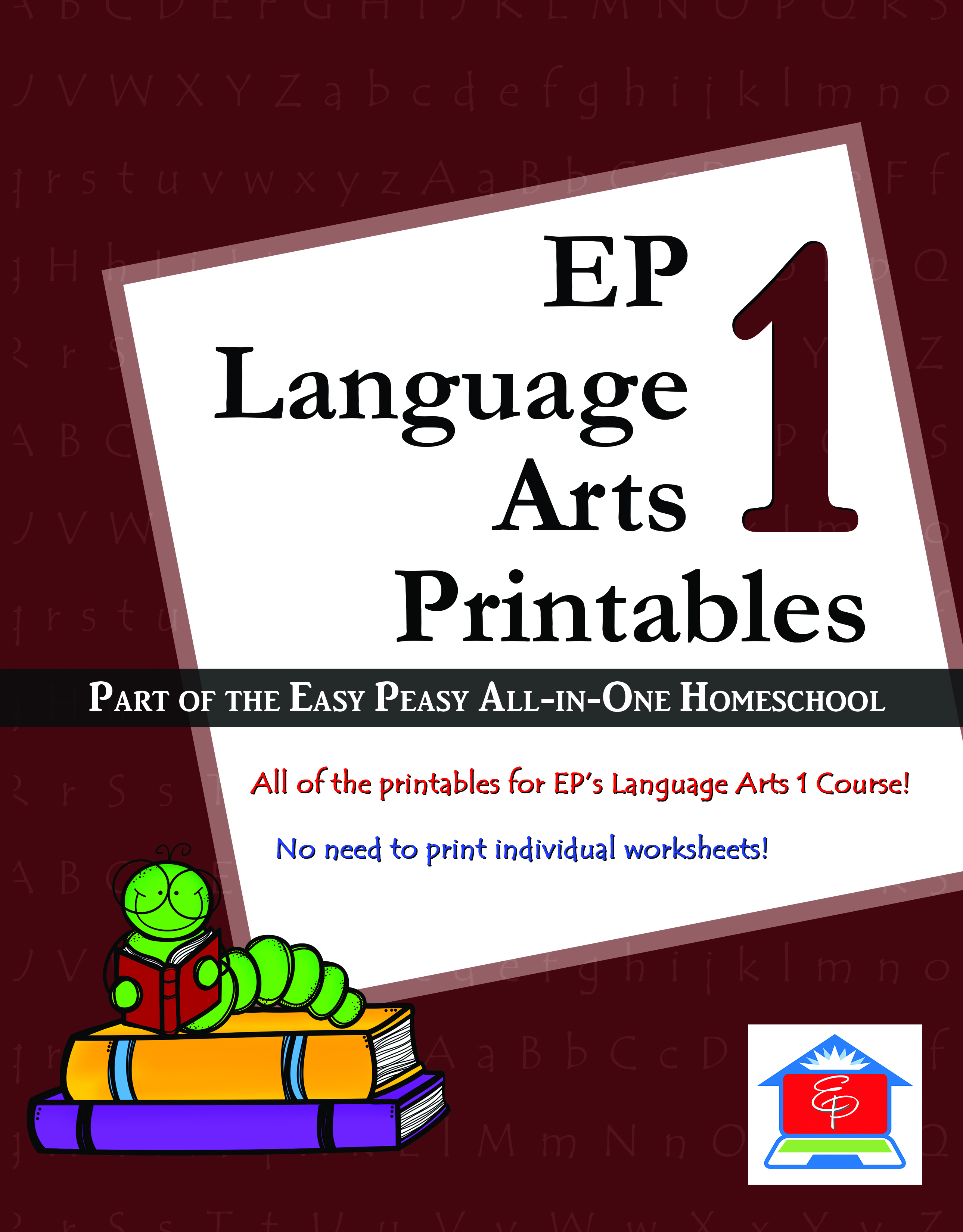 Language Arts 1 Easy Peasy All In One Homeschool