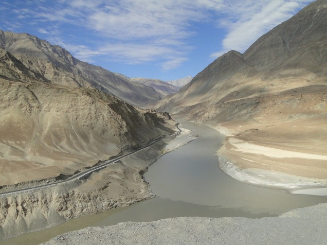 indus valley river