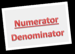numeratordenominator