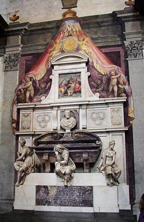 292px-Michelangelo's_grave4
