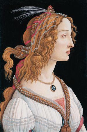 299px-Sandro_Botticelli_-_Idealized_Portrait_of_a_Lady_(Portrait_of_Simonetta_Vespucci_as_Nymph)_-_Google_Art_Project
