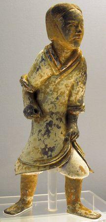A Pottery Figurine