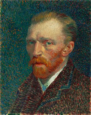 Self-Portrait of Vincent van Gogh