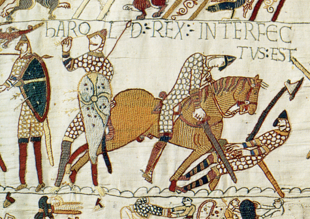 A Part of the Bayeux Tapestry