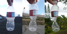 Bottle Affected by Atmospheric Pressure