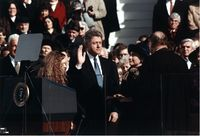 TheFirst inauguration of Bill Clinton