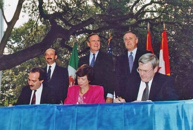 NAFTA Initialing Ceremony