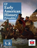 Early American History 5-8 Printables Cover.