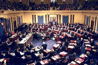 Clinton's impeachment trial in 1999